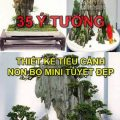 35 Ý TƯỞNG THIẾT KẾ TIỂU CẢNH NON BỘ MINI TUYỆT ĐẸP