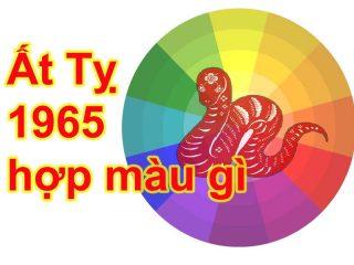 Tuổi Ất Tỵ 1965 hợp màu gì mang lại nhiều tài lộc, may mắn?